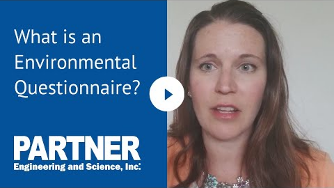 What is an environmental questionnaire?
