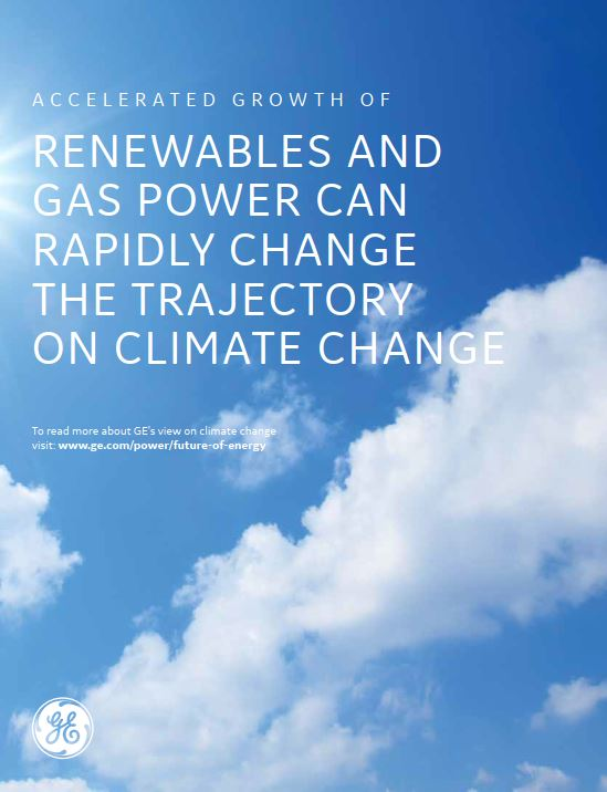 Accelerated Growth of Renewables and Gas Power Can Rapidly Change the Trajectory on Climate Change
