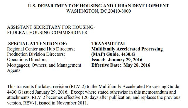 HUD Multifamily Accelerated Processing Guide