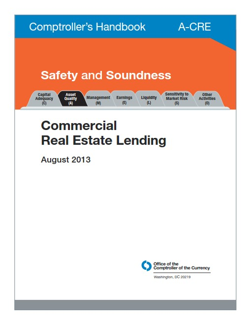 Office of the Comptroller of the Currency (OCC) Handbook for Commercial Real Estate Lending August 2013