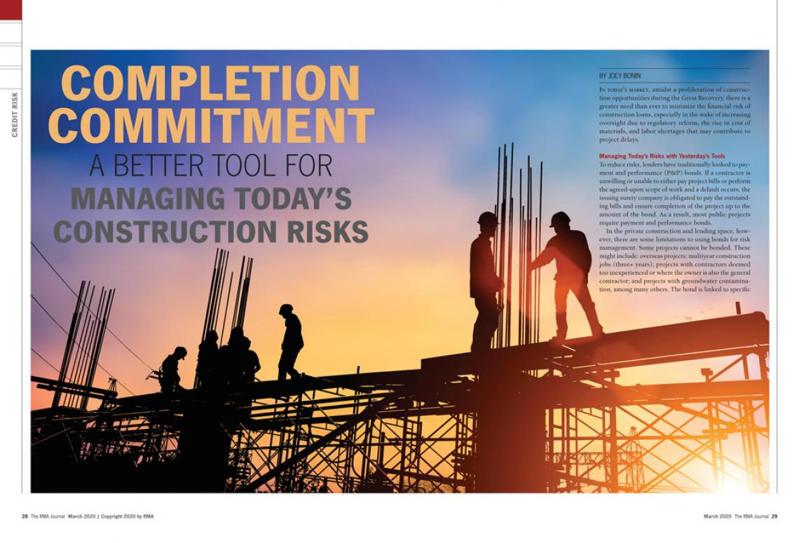 RMA Journal (March 2020) - Completion Commitment