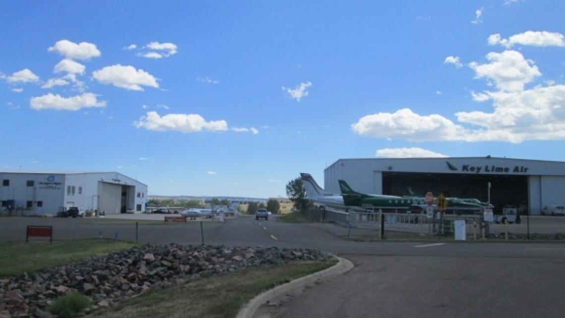 Environmental Due Diligence, Helicopter Hangar, Englewood, CO