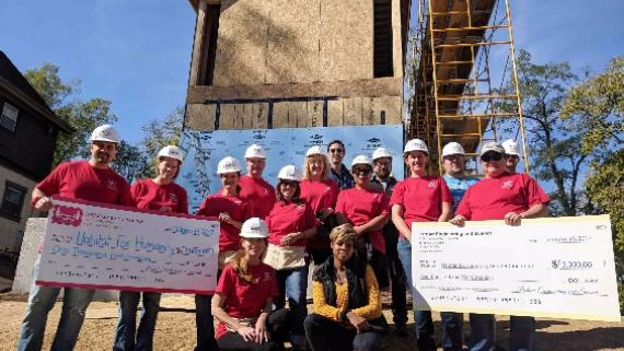 Giving Back with Habitat for Humanity
