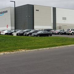 Amazon Industrial Warehouse Distribution Center