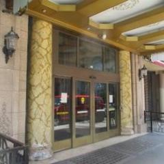 Historic Hotel, Entrance, Green Energy, Los Angeles