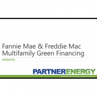 Fannie Mae & Freddie Mac Multifamily Green Financing 2018 Updates