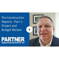 Preconstruction Reports - Project and Budget Review