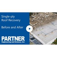Single-Ply Roof Recovery Before and After